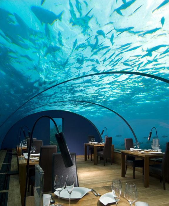 ithaa 8 Eat Underwater in the Maldives