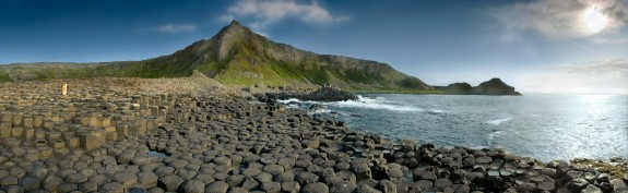 causeway2 575x177 Walk Along The Giants Causeway