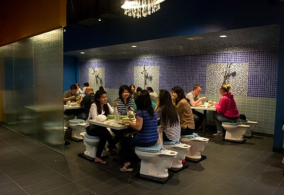 magic restroom cafe review 1 Toilet Restaurants Aim for a Crappy Experience
