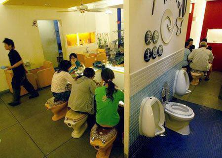 matron8 Toilet Restaurants Aim <br>for a Crappy Experience