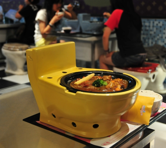 modern toilet restaurant taiwan 1 Toilet Restaurants Aim for a Crappy Experience