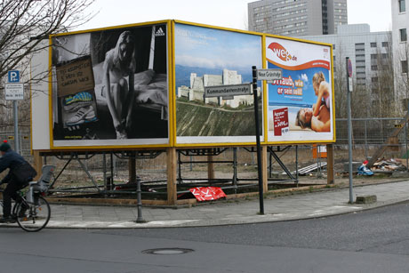 single1 Berlins Best Hotel Deal Is Behind a Billboard