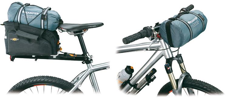 bik&er2 575x250 Bik&er ...  sc 1 st  Spot Cool Stuff | Travel & A Review Of The Lightweight Bikamper Bicycle Tent | Spot Cool ...