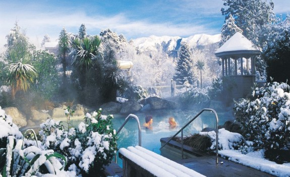 hanmer 575x350 New Zealands Best Hot Springs <br>& Geothermal Sites