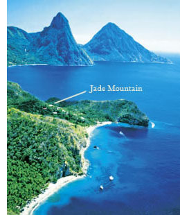 Review of the Jade Mountain Resort: Amazing St  Lucia Views