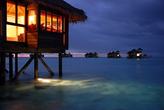 soneva1 575x384 No Shoes. No News. <br>Pure, Private, Beach Relaxation.