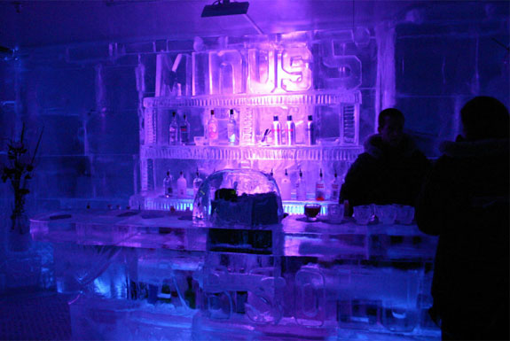 Ice Bars In Warm Places