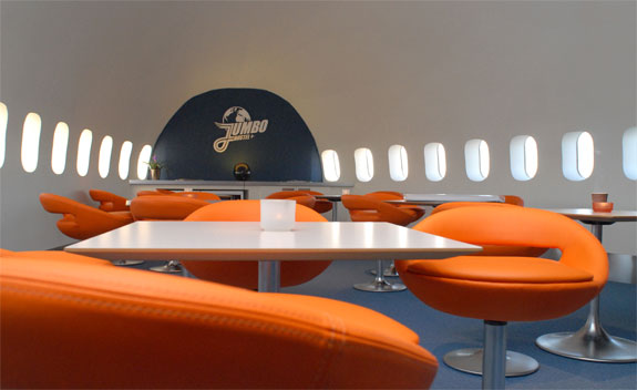 jumbo hostel 5 Stockholms Airplane Airport Hotel
