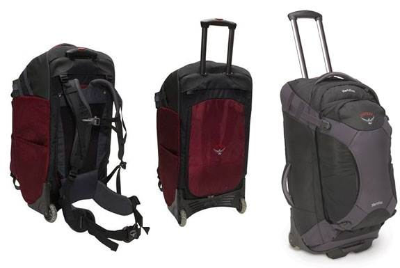 Backpack, Meet Wheels. <br />Wheels, Backpack.