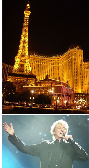 paris las vegas manilow s The Barry ManiLOVE Store