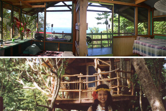 Hawaii's Treehouse Hideaway