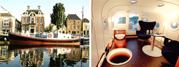 lifeboat 1 The Unusual Hotels of Harlingen, Holland
