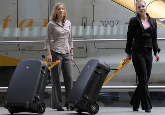 live luggage 2 The Power Assisted Wheeled Suitcase