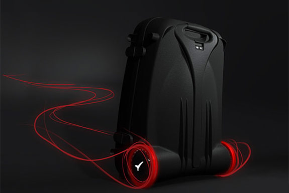 The Power Assisted Wheeled Suitcase
