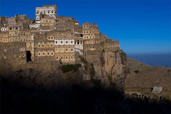 hajjarah 2 5 Amazing Towns on Perilous Cliff Sides