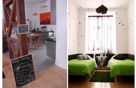 living lounge 2 5 Cool, Luxurious (and Inexpensive) Hostels