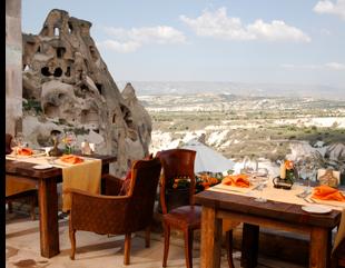 argos in cappadocia cave view Cappadocias Cave Hotels