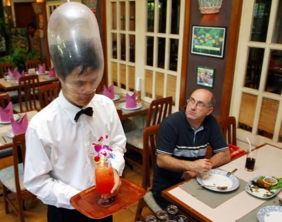 cabbages condoms restaurant bangkok 1 575x453 Bangkoks Restaurant of Safe Sex