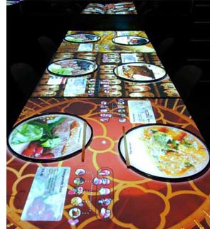 inamo london 20 The London Restaurant with Interactive Tables