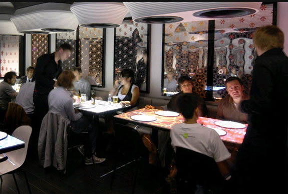 inamo london 7 The London Restaurant with Interactive Tables