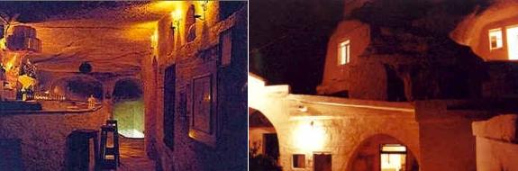 monastry cave hotel Cappadocias Cave Hotels