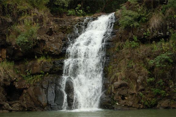 waimea falls LOST Hawaii