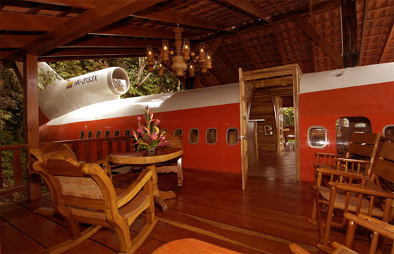 727 hotel 1 The Luxurious Airplane Suite in the Costa Rica Jungle