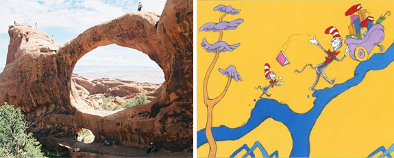 arches np 1 One Fish, Two Fish, <br>Places That Look Dr. Seuss ish