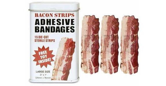 bacon bandages The Worlds Worst Travel Gear