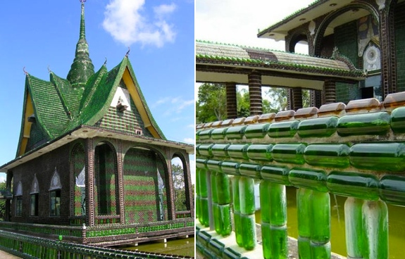 million beer bottle temple The Million Beer Bottle Temple