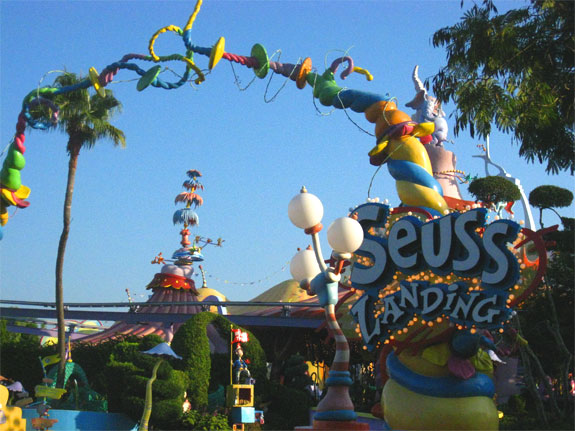 seuss landing orlando 1 One Fish, Two Fish, <br>Places That Look Dr. Seuss ish