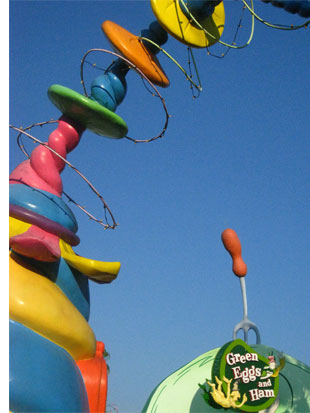 seuss landing orlando s One Fish, Two Fish, <br>Places That Look Dr. Seuss ish
