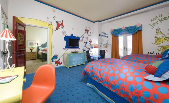 seuss suite One Fish, Two Fish, <br>Places That Look Dr. Seuss ish