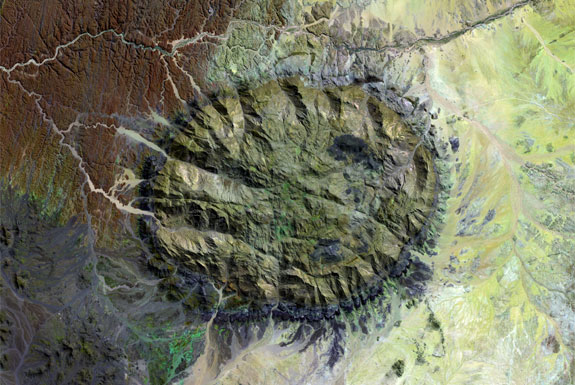 7 Amazing Circular Geological Oddities