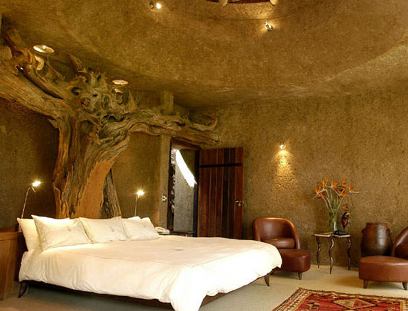 earth lodge 2 7 Amazing & Luxurious <br>South Africa Safari Lodges