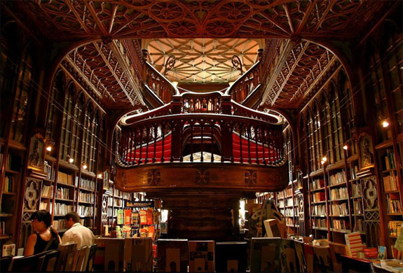 lello bookstore 1 The Worlds 6 Coolest Looking Bookstores