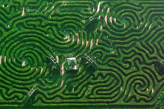 Mazes and labyrinths general off topic off topic for Garden maze designs