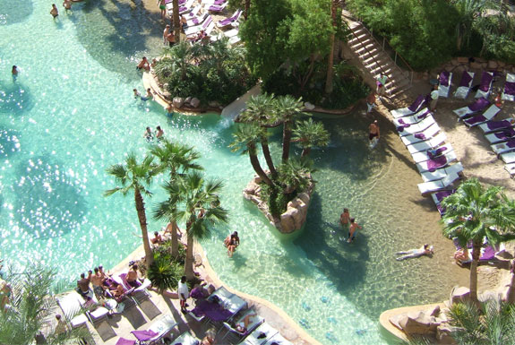 The Seven Wonders <br />of Las Vegas Pools