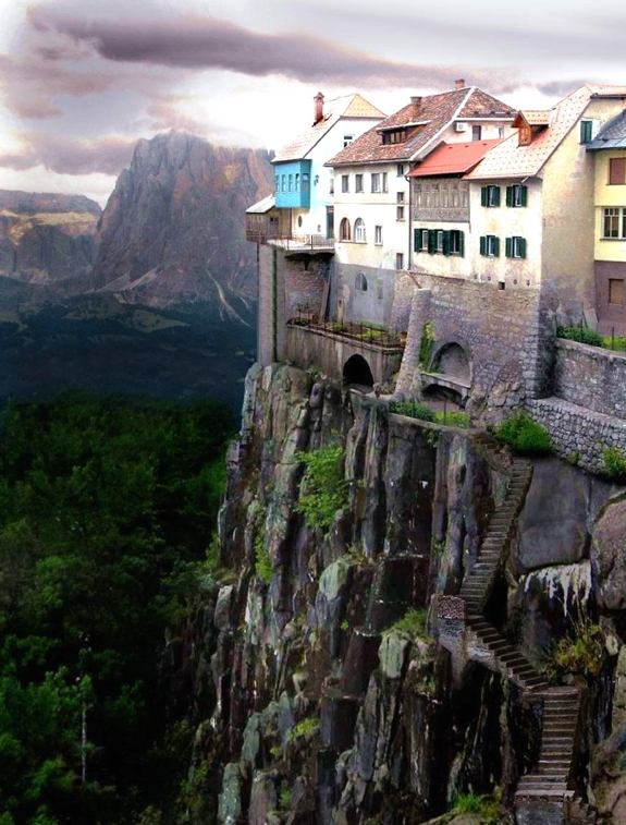 castellfollit de la roca 1 5 Amazing Towns on Perilous Cliff Sides
