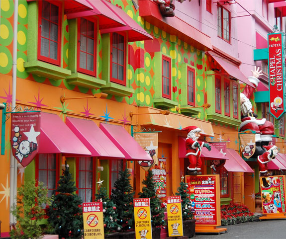christmas love hotel 1 The (Love) Hotel Where Every Day is Christmas