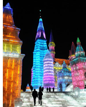 harbin ice festival s1 Chinas Amazing Snow & Ice Festival