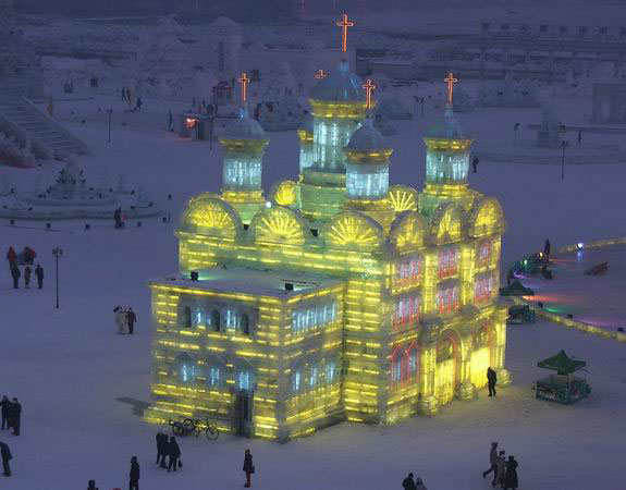 harbin snow 11 Chinas Amazing Snow & Ice Festival