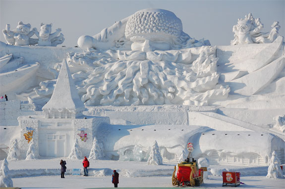harbin snow festival Chinas Amazing Snow & Ice Festival
