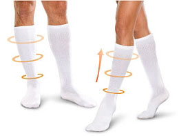 travel core spun socks 7 Items for Reducing <br>Air Travel Frustration