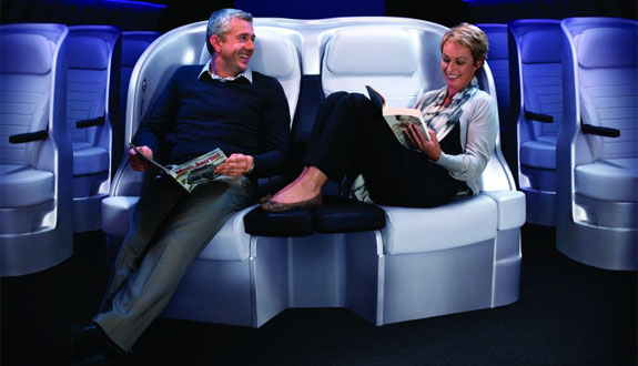 air nz premium economy 1 Air New Zealand To Offer Lie Flat Economy Service