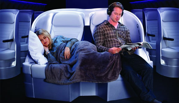 air nz premium economy 2 Air New Zealand To Offer Lie Flat Economy Service