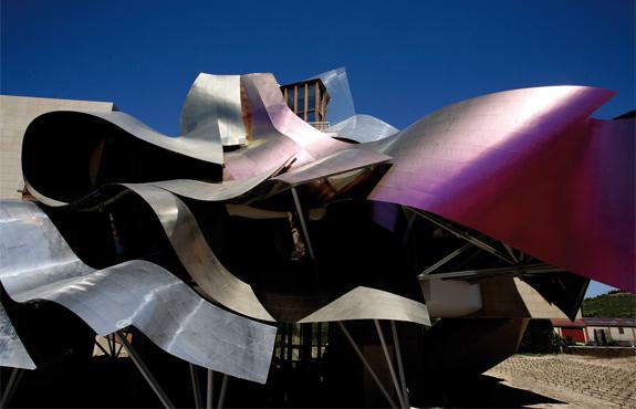 gerhy hotel 10  Spains Frank Gehry Hotel