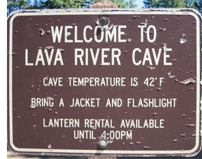 lava river graphic 5 Fabulously Odd Oregon Roadside Attractions