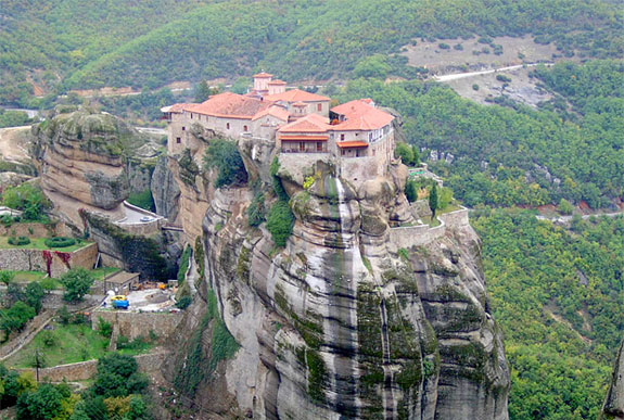 meteora greece 1 5 Temples & Monasteries <br>on Perilous Cliff Sides