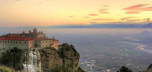 meteora greece 5 5 Temples & Monasteries <br>on Perilous Cliff Sides